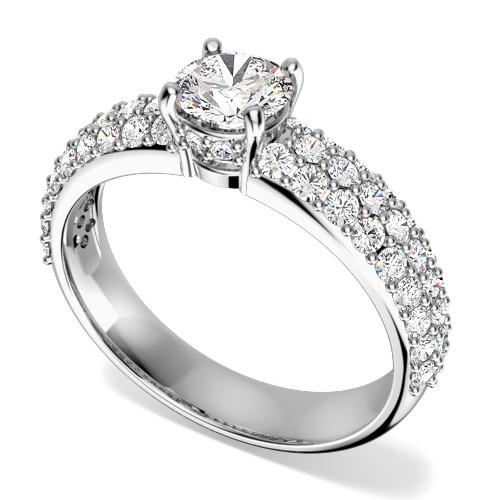 Inel cu diamante Zen Day