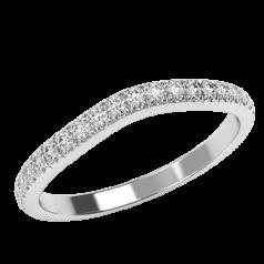 RDW277W Verigheta cu Diamant/ Inel Eternity Dama Aur Alb 18kt cu 23 Diamante Rotund Briliant